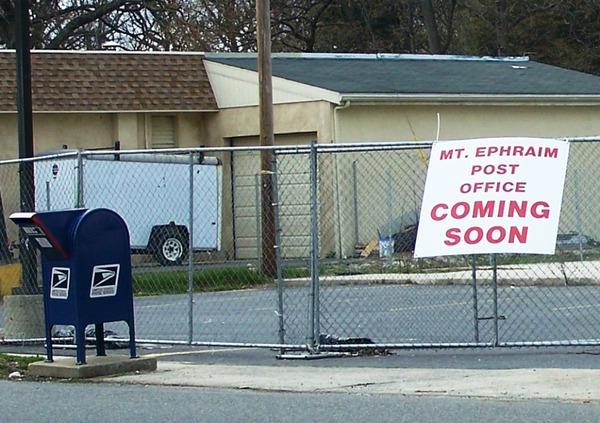 Mount Ephraim Post Office To Be Rebuilt Cnbnews